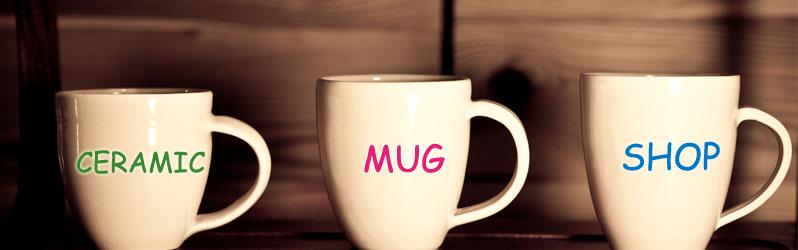 Ceramic mug shop
