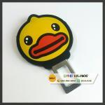 เป็ดเหลือง B Duck ตัวตัดสัญญาณเสียงเข็มขัดนิรภัย เสียบเบลท์หลอก ลอกเบลท์ Buckle ((งานแท้))