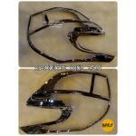 Vj1091 ครอบไฟท้าย ยาริส 2014 Tail Lamp Cover – YARIS 2014
