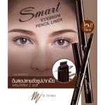 Smart Eyebrow Pencil Liner No.01 สีน้ำตาลเข้ม