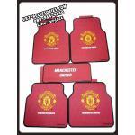 ยางปูพื้น ลายแมนเชสเตอร์ยูไนเต็ด (แมนยู) : Floor Mats - Manchester United