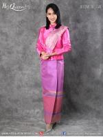 เช่าชุดไทย &#x2665 ชุดไทยจิตรลดา - เสื้อสีชมพูบานเย็น