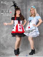 เช่าชุดแฟนซี &#x2665 ชุดแฟนซี การ์ตูน ชุดอลิซอินวันเดอร์แลนด์ และควีนไพ่ Alice in Wonderland