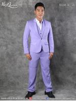 เช่าชุดแฟนซี &#x2665 ชุดสูท พร้อมเสื้อกั๊ก - สีม่วง