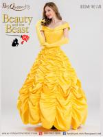 เช่าชุดแฟนซี &#x2665 ชุดแฟนซี เจ้าหญิงเบลล์ Beauty and the Beast โฉมงามกับเจ้าชายอสูร อก 38 เอว 34 นิ้ว