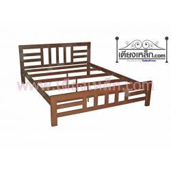 เตียงเหล็ก รุ่นระแนงตั้งสลับนอน