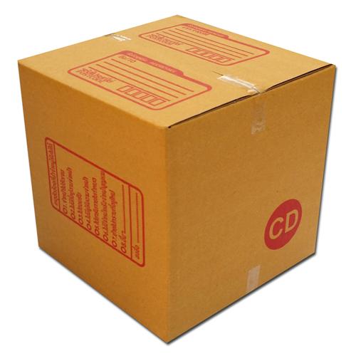 กล่องไปรษณีย์ฝาชนเบอร์ CD ขนาด 15 X 15 X 15 cm. ใบละ 4 บาท