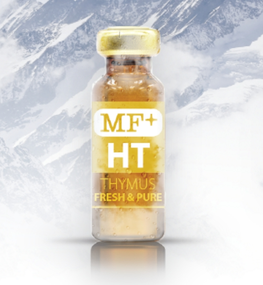 MF+ Thymus HT 400mg (PURE) (Swiss) Immune-Boosting Properties By Providing Support And Enhancement To The Thymus Gland ขนาดบรรจุ 2ml x 10 Vials