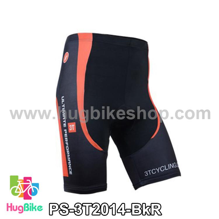 กางเกงจักรยานขาสั้นทีม 3T 14 สีดำ สั่งจอง (Pre-order)