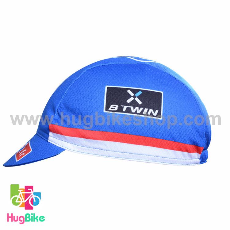 หมวกแก๊บ FDJ 16 (01) สีน้ำเงินขาว