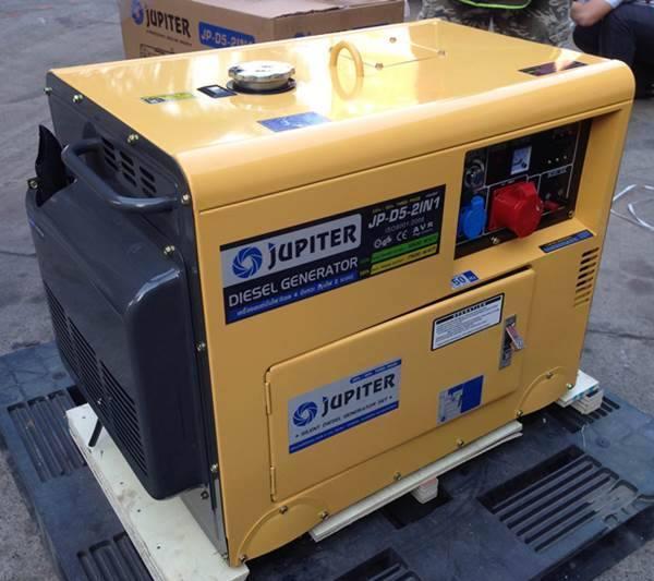 เครื่องยนต์ปั่นไฟ ดีเซล JUPITER (จูปิเตอร์) รุ่น JP-D5-2IN1