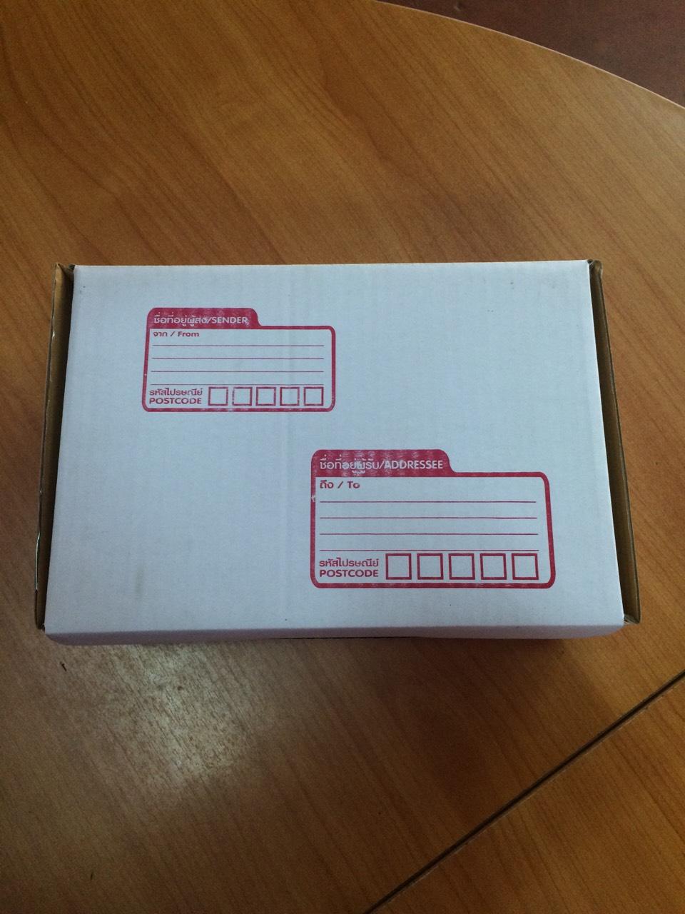 กล่องไปรษณีย์ ไดคัท เบอร์ ค ขนาด 30 X 20 X 11 cm. ใบละ 10.5 บาท