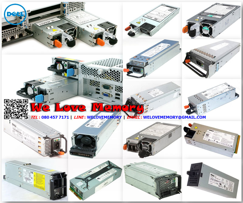 549EF [ขาย จำหน่าย ราคา] Dell PowerEdge (Dell PE) Hot Swap 750W Power Supply | Dell
