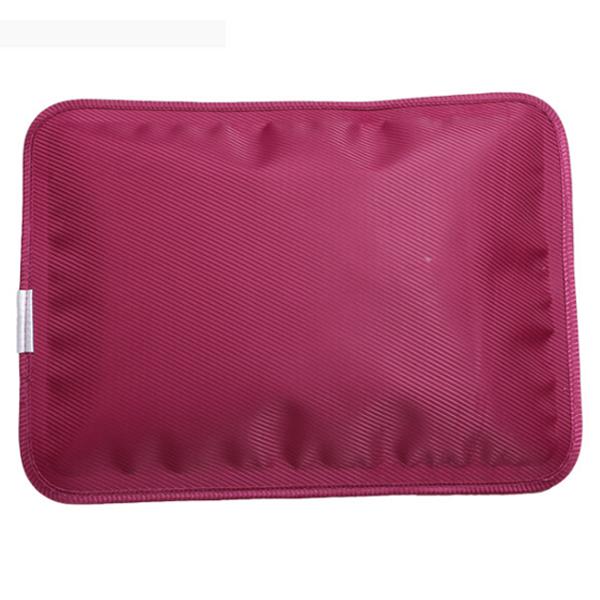 กระเป๋าน้ำร้อนไฟฟ้า อย่างดี เกรดพรีเมียม สีแดงเลือดหมู รุ่นร้อนสุดๆ