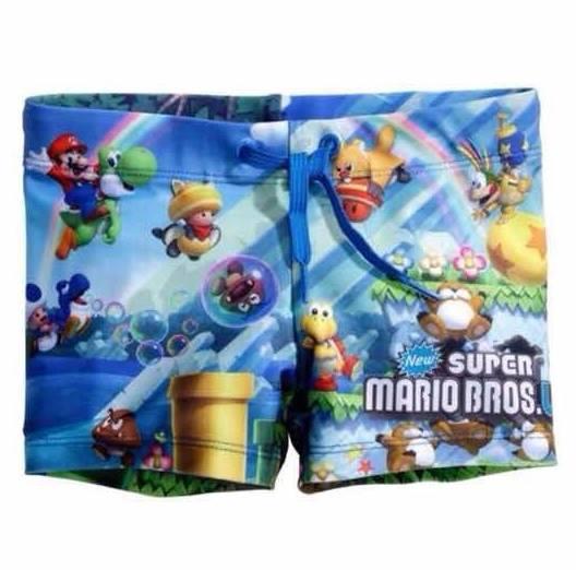 H&M : กางเกงว่ายน้ำเด็กชาย พิมพ์ลาย Super Mario Size : 1-2y / 2-4y / 4-6y / 6-8y / 8-10y / 10-12y / 12-14y