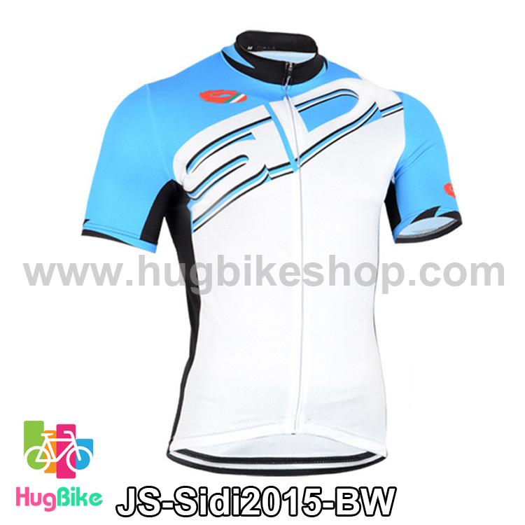 เสื้อจักรยานแขนสั้นทีม Sidi 15 สีฟ้าขาว สั่งจอง (Pre-order)