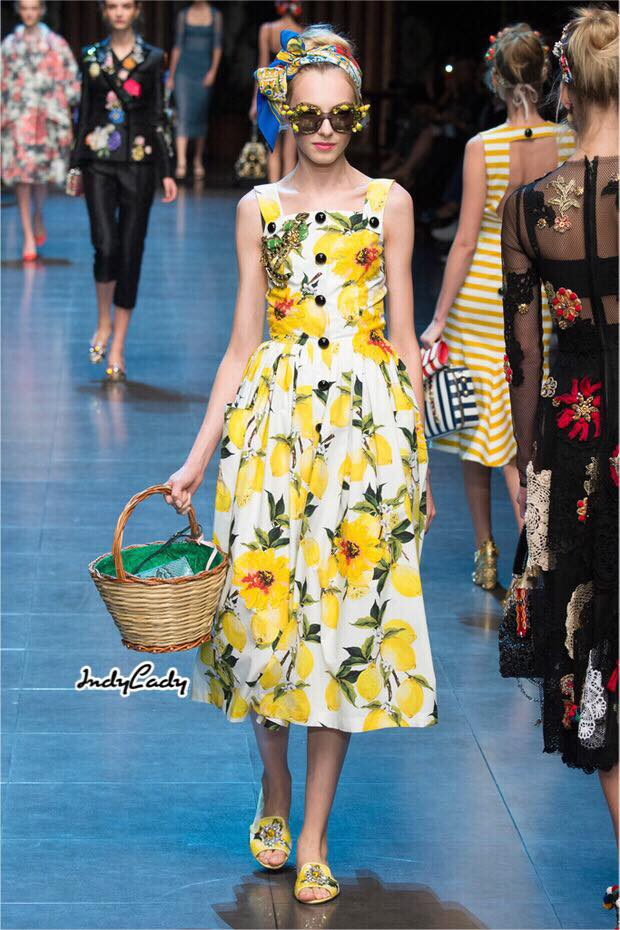 Dress Brand DG สายเดี่ยว สีสวยสดใส