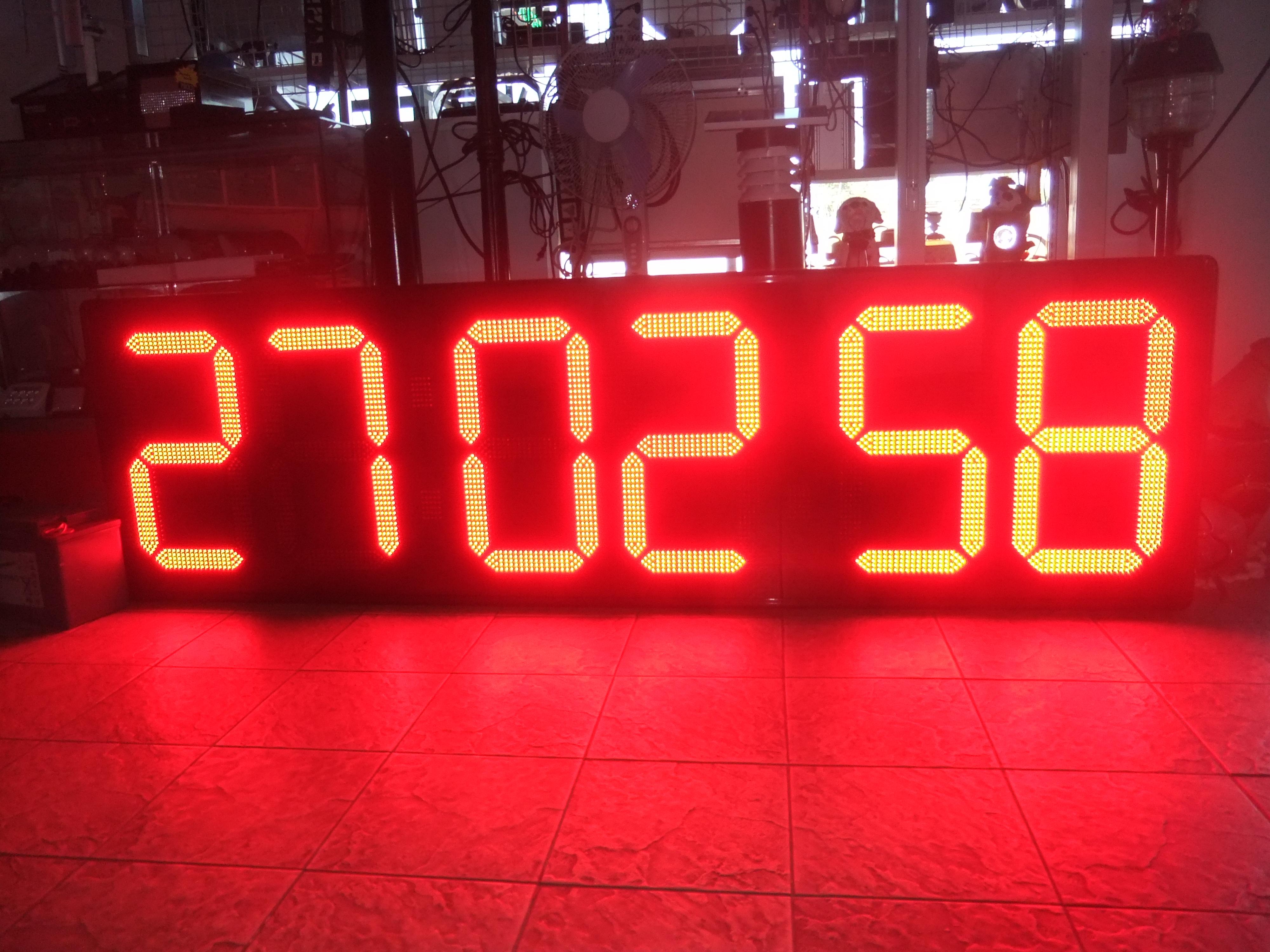นาฬิกาดิจิตอลLED 20นิ้ว 6หลัก