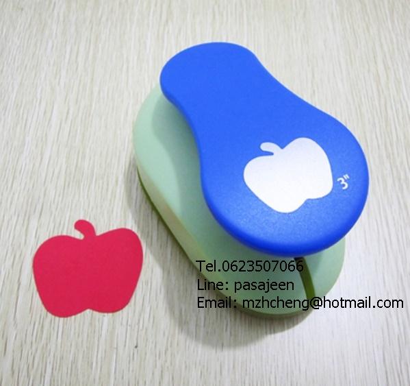 Punch รูปApple 3นิ้ว (7cm)
