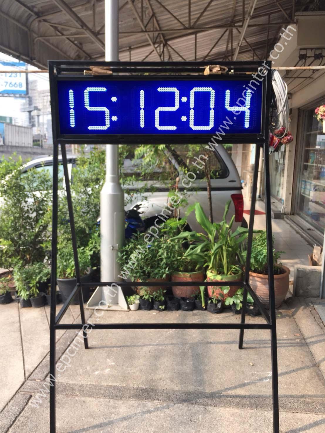 นาฬิกาจับเวลา ขนาด 9นิ้ว 6หลัก