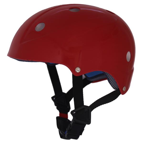หมวกกันกระแทก สีแดง