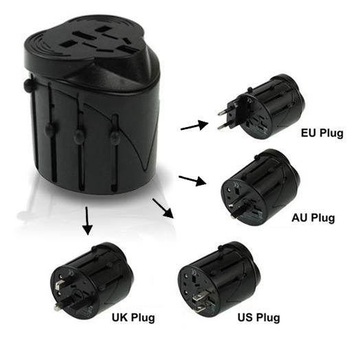 Universal plug adapter APC