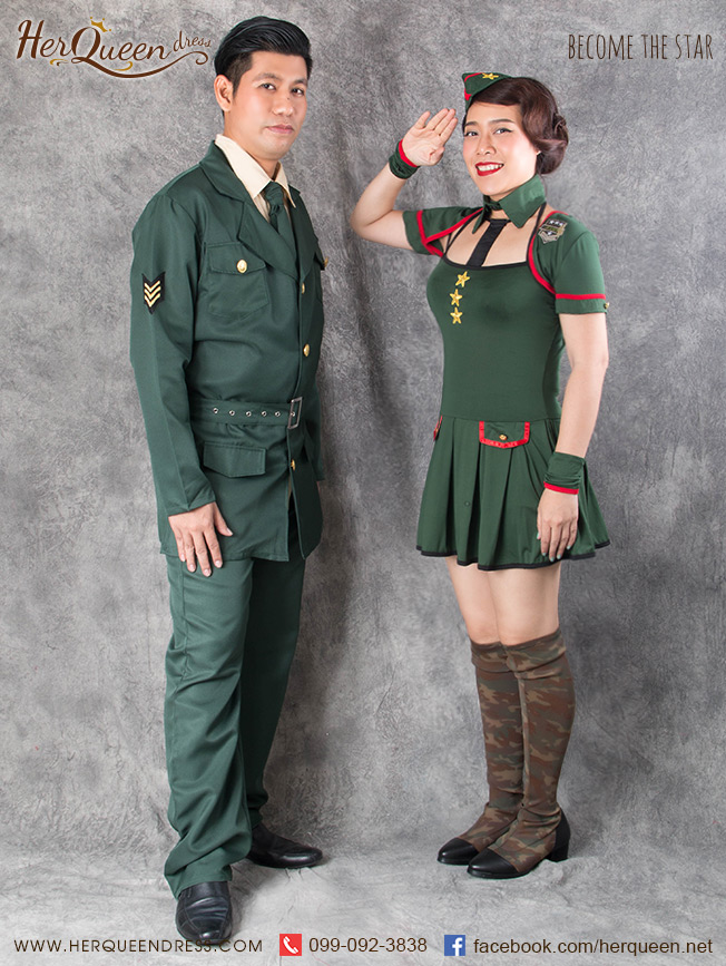เช่าชุดทหาร