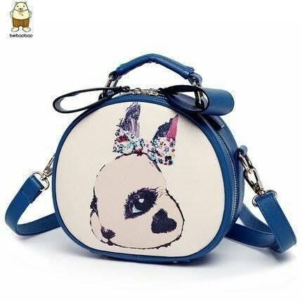 กระเป๋าลายกระต่ายน้อยน่ารัก