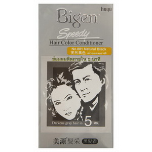Bigen Speedy Hair color conditioner บีเง็นสปีดดี้ครีมเปลี่ยนสีผม No.881 ดำธรรมชาติ