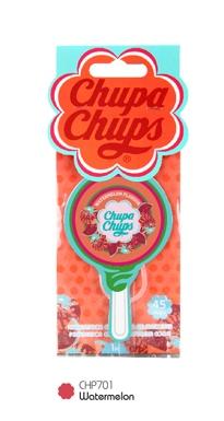 1 แถม 1)Chupa Chups แผ่นน้ำหอม Lollipop กลิ่น Watermelon (แตงโม)