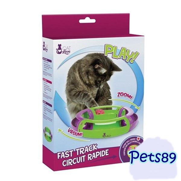 ของเล่นแมวเหมียว Fast Track Circuit Rapide