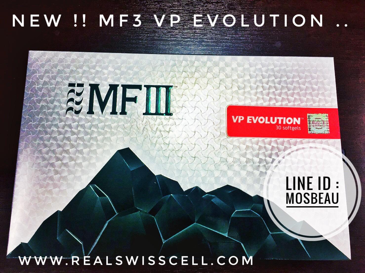 NEW...MF3 VP EVOLUTION Enhanced formulation of Vegetal Placenta Extracts with botanical ingredients for skin rejuvenation, cellular renewal, cardiovascular health, and complete wellness.