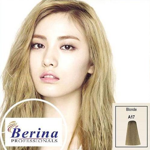เบอริน่า ครีมย้อมผม A17 สีบลอนด์ Blonde 60 g.