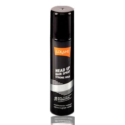 Lolane Head up Hair Spray Strong Hold / โลแลน เฮด อัพ แฮร์ สเปรย์ (สเปรย์..แข็งพิเศษ ทนชื้น ทนเหงื่อ อยู่ทรงตลอดวัน 48 ชั่วโมง) 70 มล.