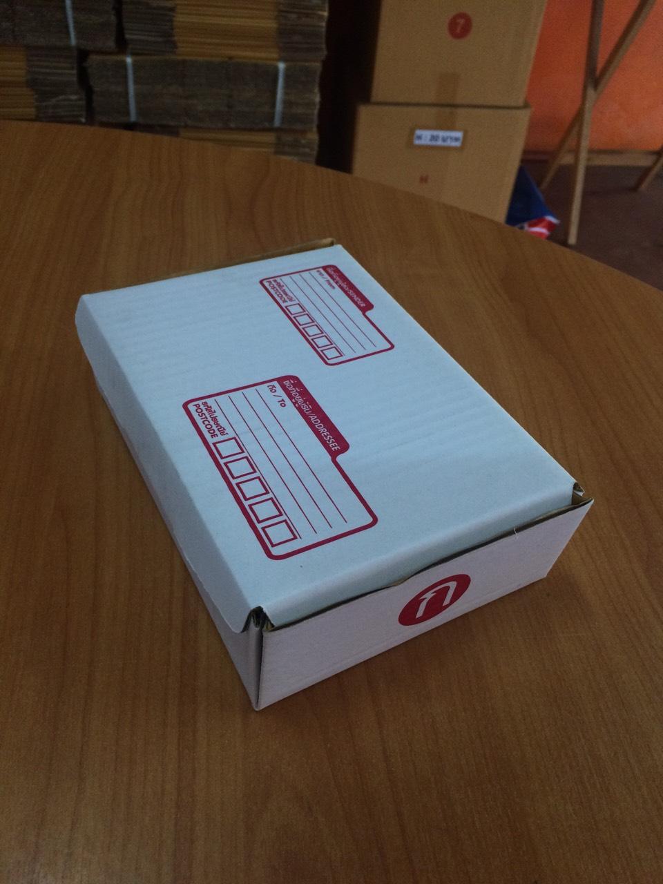 กล่องไปรษณีย์ ไดคัท เบอร์ ก ขนาด 20 X 14 X 6 cm. ใบละ 5.2 บาท