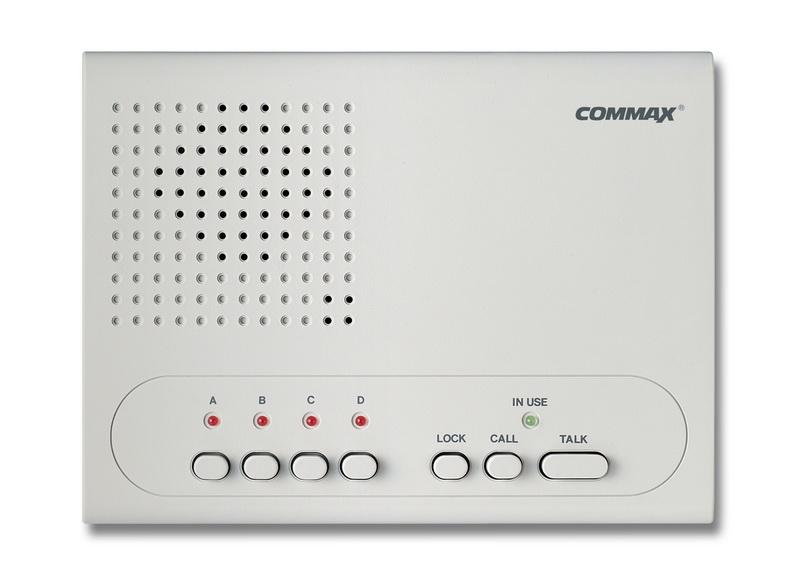 อินเตอร์คอม 4 สถานี ชนิดไร้สาย (COMMAX WI-4C) 1 เครื่อง