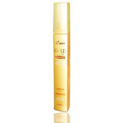ไบโอ-วูเมนส์ โกลด์ เอสเซ้นส์ แฮร์ รีแพร์ ลีฟ-อิน ฺBioWoman Gold Essence Hair Repair Leave-in (เปลี่ยนผมเสียเป็นผมสวย ภายใน 14 วัน) 200 มล.