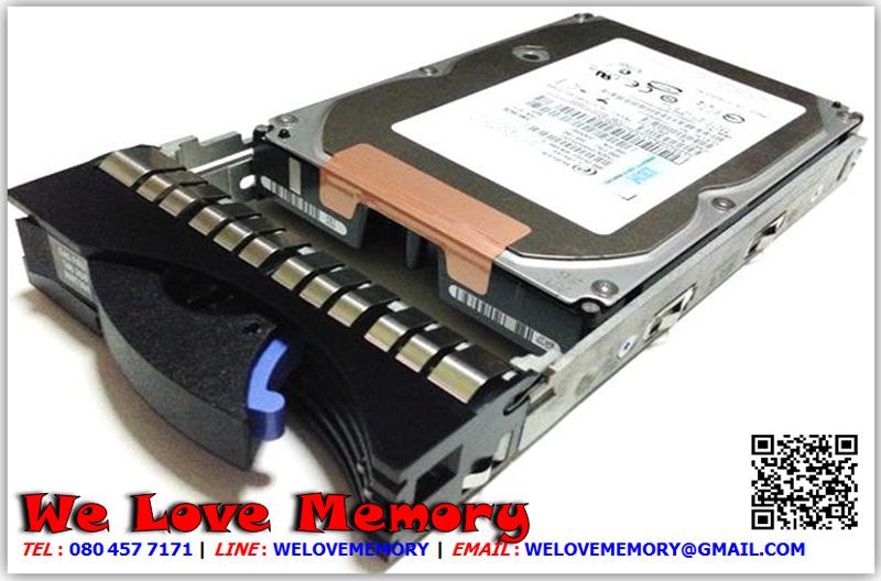 26K5255 [ขาย จำหน่าย ราคา] IBM 73GB (73.4GB) 15K U320 SCSi Hdd | IBM