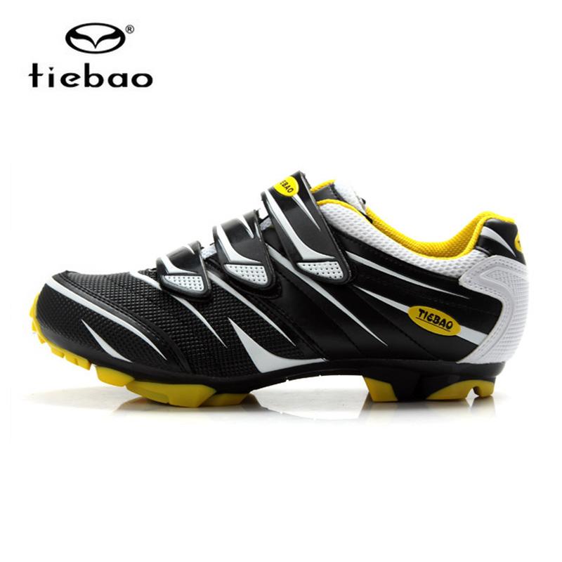 รองเท้าจักรยานเสือภูเขา TIEBAO รุ่น TB35-B816A สีเหลืองดำ