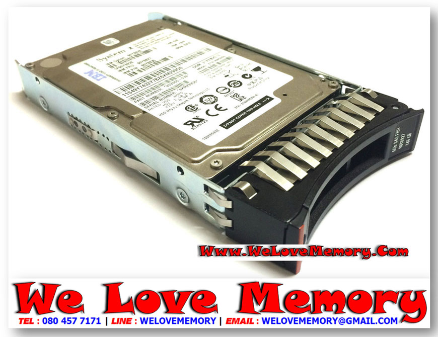 00AD035 IBM 500GB 7.2K 6Gbps SATA 2.5'' HDD for NeXtScale System