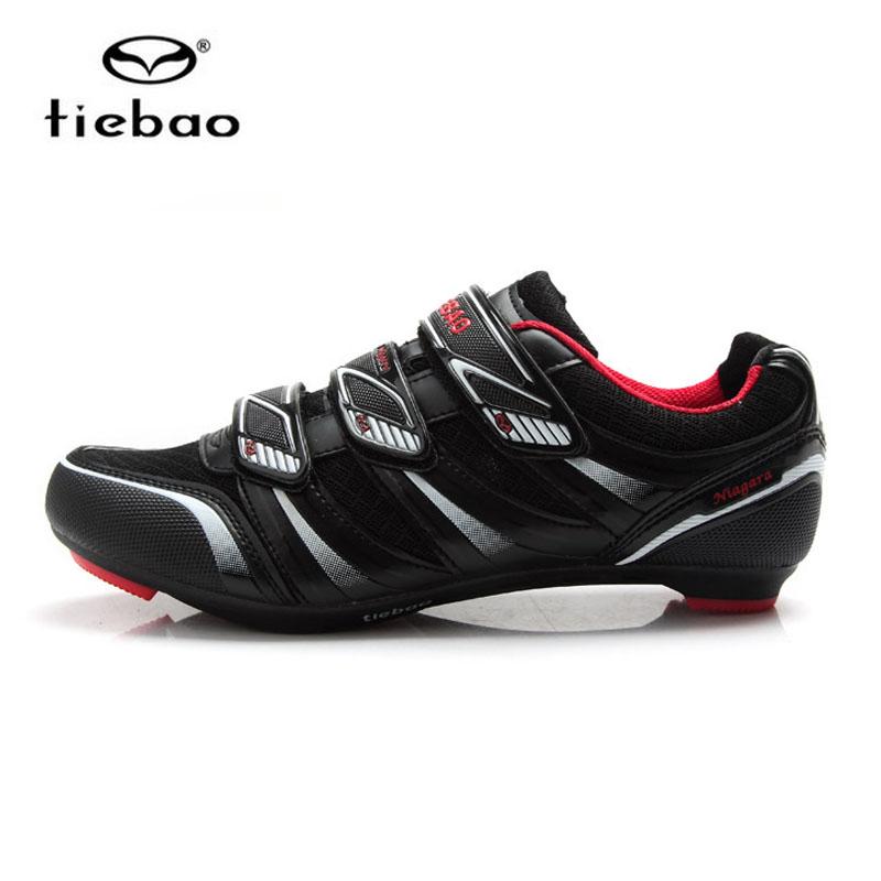 รองเท้าจักรยานเสือหมอบ TIEBAO รุ่น TB36-B1428 สีดำแดง