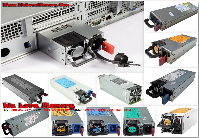 506822-001 [ขาย จำหน่าย ราคา] HP 750W Power Supply Proliant DL360 G6 ML370 G6
