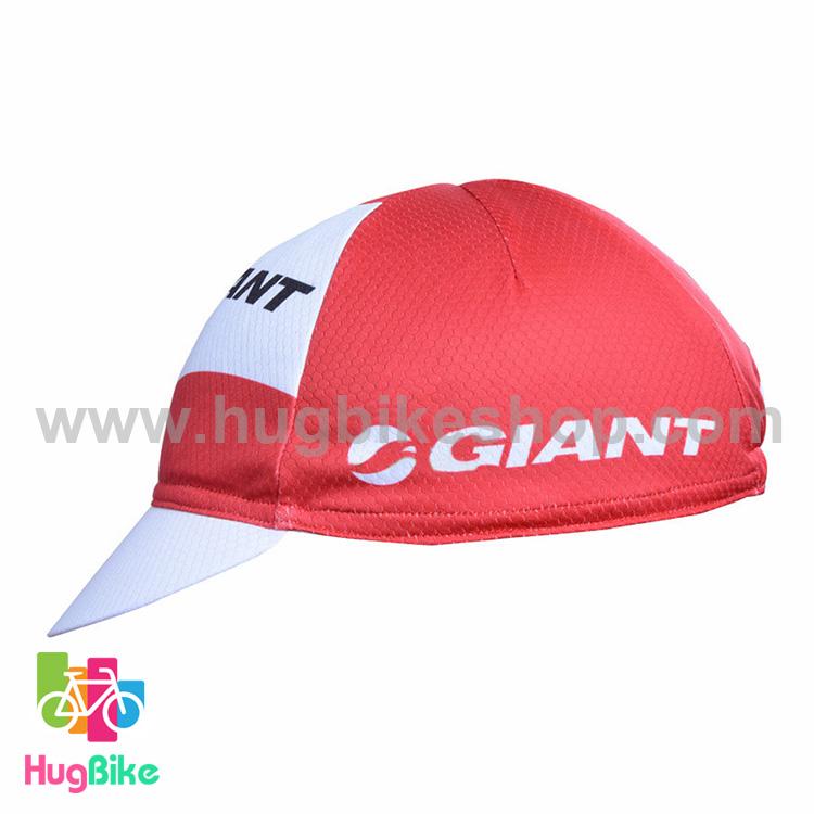 หมวกแก๊บ Giant 16 (01) สีแดงขาว