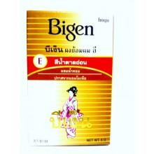 Bigen ผงย้อมผม อี สีน้ำตาลอ่อน ปราศจาก แอมโมเนีย