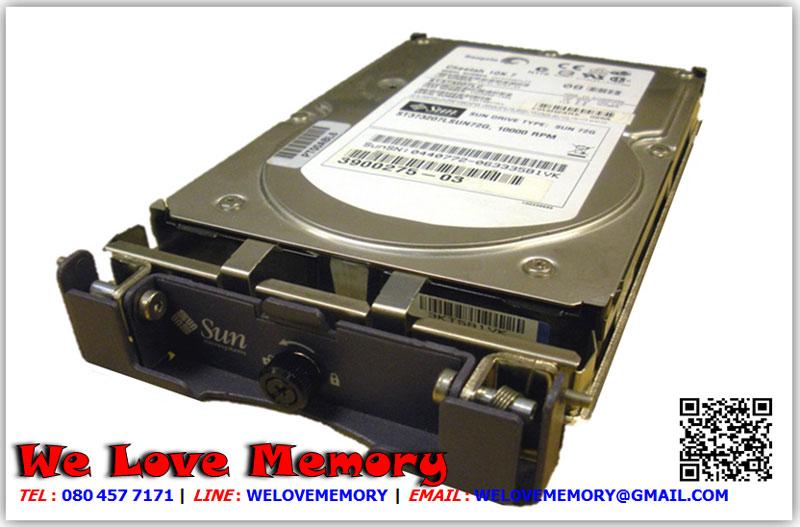 390-0360 [ขาย จำหน่าย ราคา] Sun 73.4GB (Hitachi HUS153073VL3800 15K Rpm Sun Netra/StorEdge Ultra-320 SCSI Hard Drive | Sun