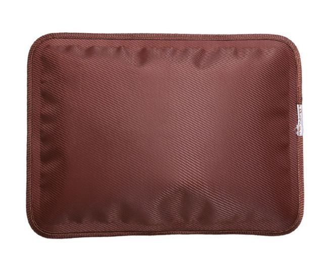 กระเป๋าน้ำร้อนไฟฟ้า อย่างดี เกรดพรีเมียม สีน้ำตาลเข้ม รุ่นร้อนสุดๆ