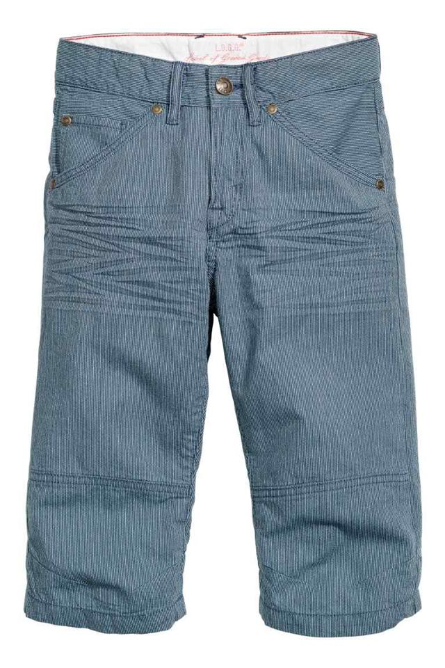 H&M : กางเกงขาสั้น รุ่น Clamdiggers (มีสายปรับเอว) size : 1.5-2y / 2-3y / 3-4y / 5-6y