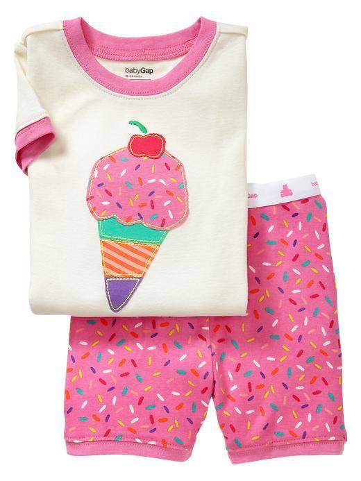 babyJoe : ชุดนอน รูป ice cream เนื้อผ้า cotton 100% size 2y,3y,4y
