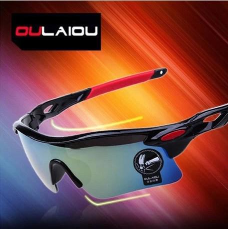 แว่นตาจักรยาน รุ่น OULAIOU 009181 พร้อมกล่องแว่นตา