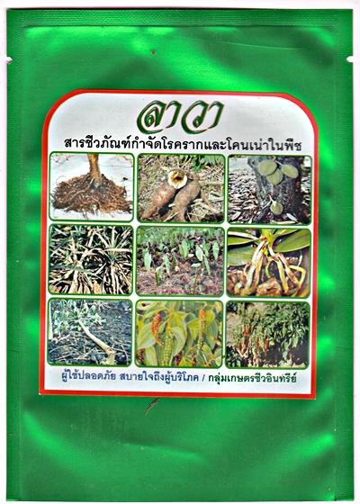 ลาวา สารชีวภัณฑ์กำจัดโรครากและโคนเน่าในพืช